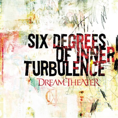 Dream Theater Six Degrees CD Cover
