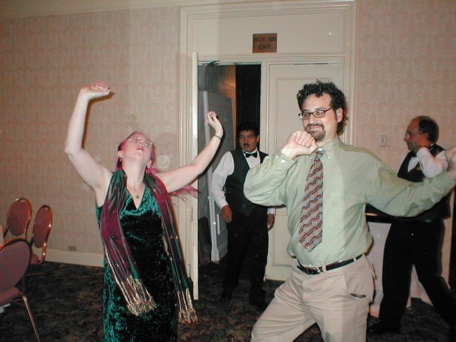 Ian and Gail Dancing