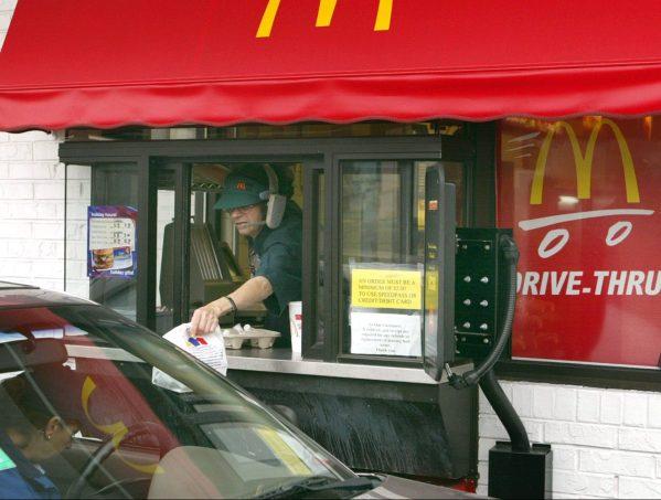 McDonalds Drive Through Window