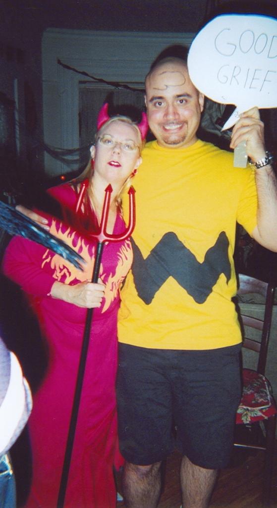 Devil and Charlie Brown