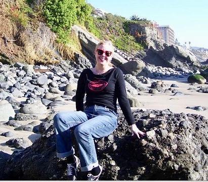 Gail at the Beach