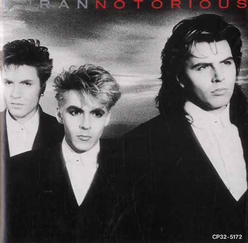 Duran Duran Notorious CD Cover