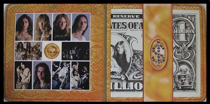 Billion Dollar Babies Album Gatefiold