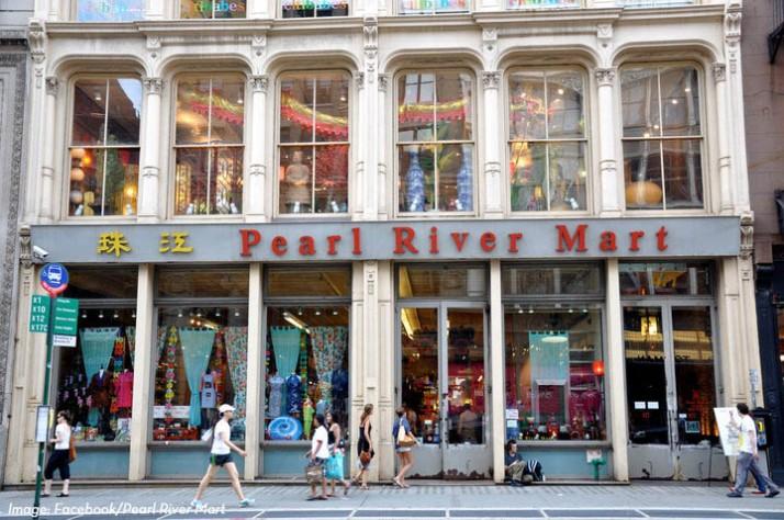 Pearl River Mart Old Storefront