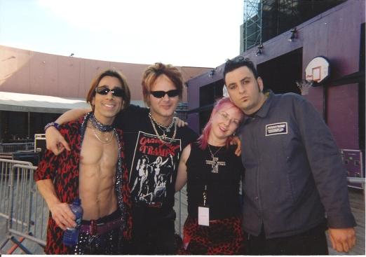 Ricky, Rikki, Gail & Mike, 2001
