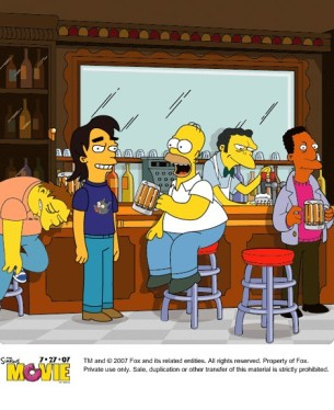 Simpsons' Terry!
