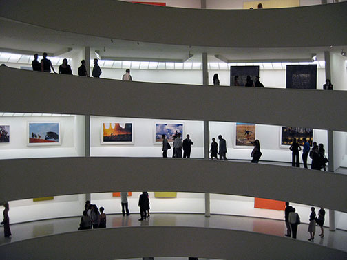 Spiritual America is at the Guggenheim through January 9, 2008