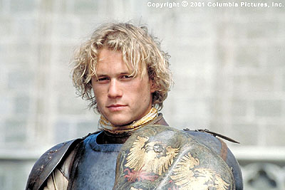 Heath as a Knight