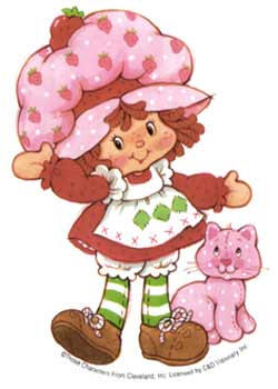 Strawberry Shortcake Character Reimagined For 2008 As Me At Age Five The Worley Gig
