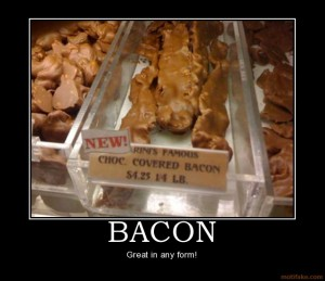 Mmmm...Chocolatey Bacon