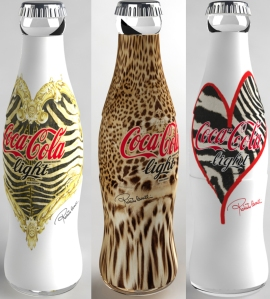 Animal Print Coke Bottles