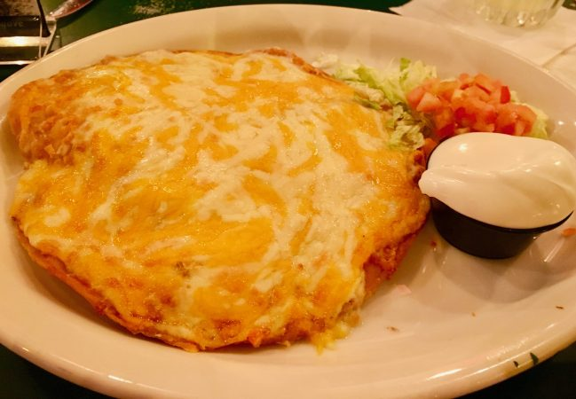 Crispy Cheese Quesadilla By Gail Worley