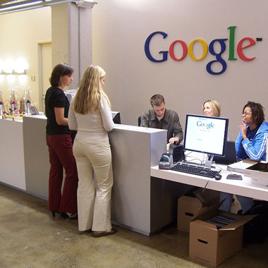 google office video. video tour of google office in new york