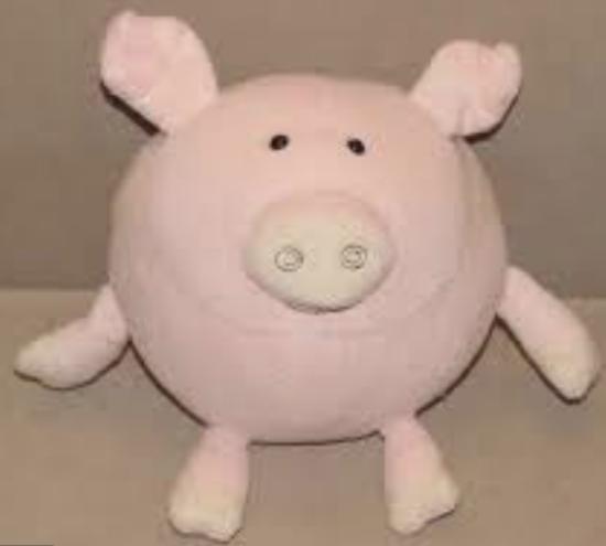 lubies plush pig
