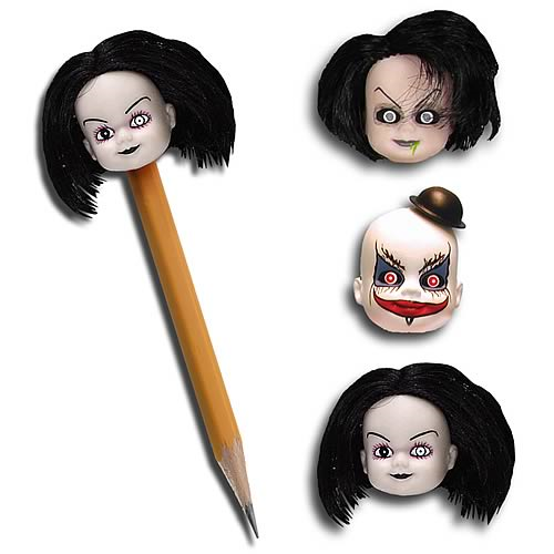 living dead doll pencil topper