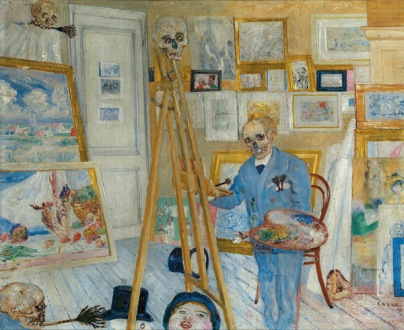 Ensor Self Portrait