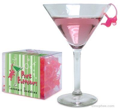 Pink Elephant Cocktail Buddies