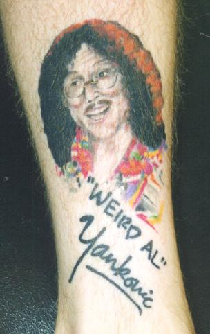 Weird Al Tattoo
