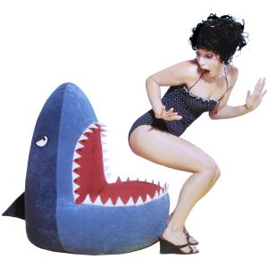 Shark attack bean bag chair the worley gig