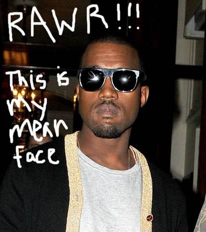 Kanye Mean Face