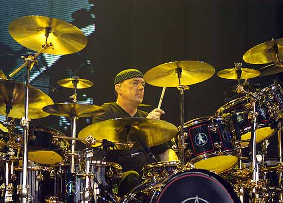 Neil Peart and Kit
