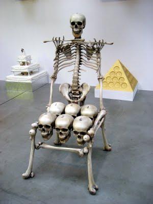 Skull and Bones Chair