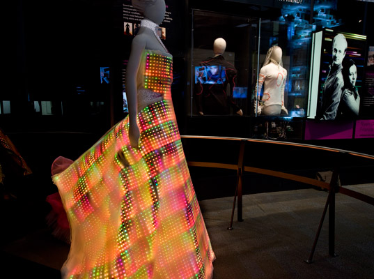LED Dress Side View