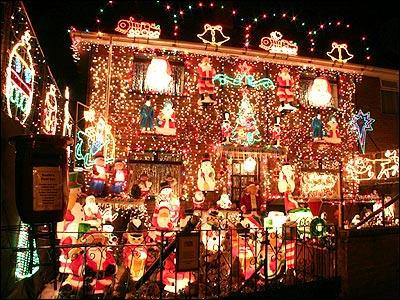 christmas light house the worley gig - Christmas Light Houses