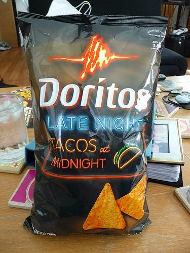 Doritos Tacos at Midnight