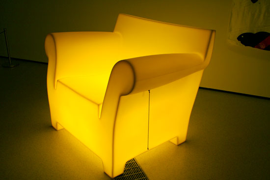 Superieur U201cThis Is A Lampu201d Illuminated Philippe Starck Bubble Chair By Tobias Wong