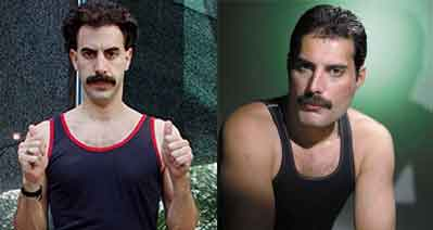 943fba7cea8d8 Sacha Baron Cohen to Play Freddie Mercury in Upcoming Queen Biopic ...
