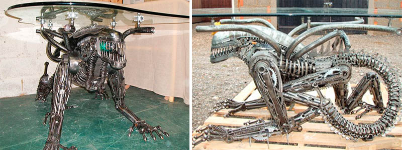 Hr Giger Alien Coffee Table The Worley Gig