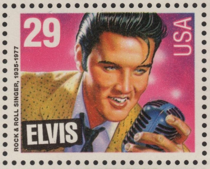 Elvis Presely Stamp