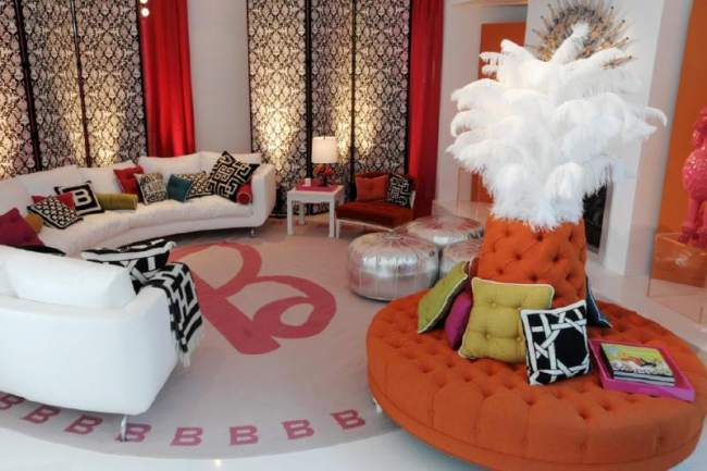 Barbies Dream House Living Room