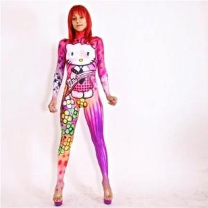 Hello Kitty Painted Body