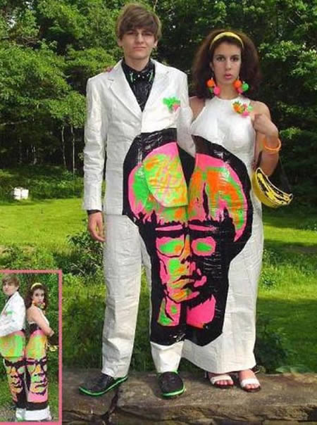 Andy Warhol Prom Outfits