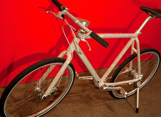 David Byrne Bedazzled Bike
