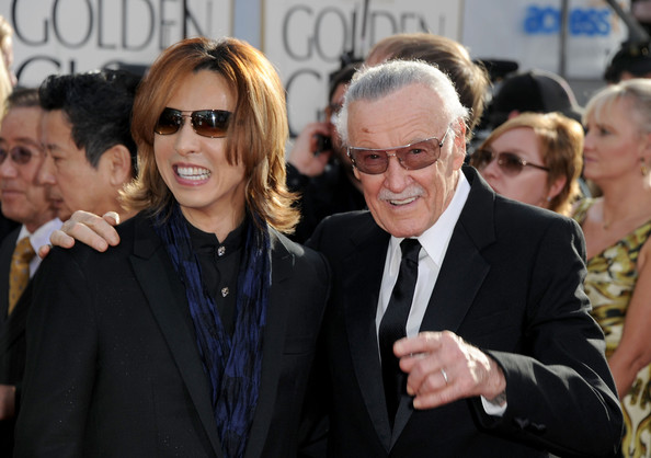 Stan Lee and Yoshiki