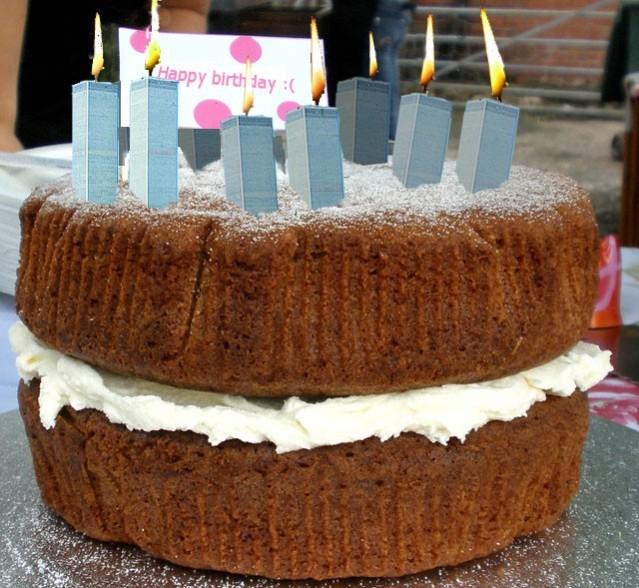 911 Birthday Cake