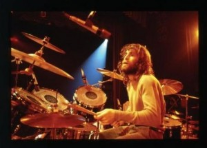Dennis Wilson Playing Drums