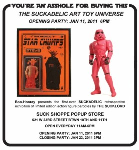 Suckadelic Art Toy Universe