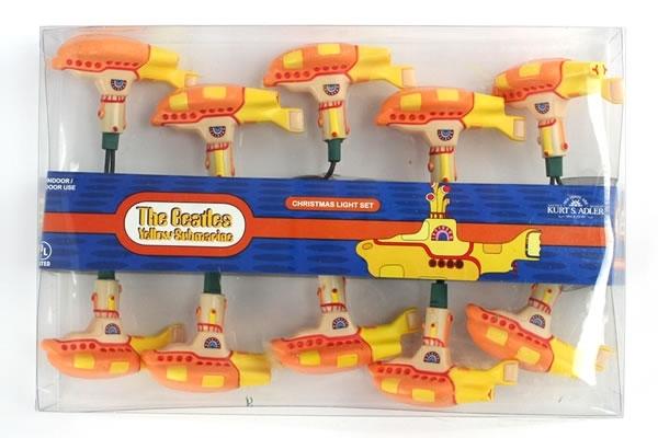 The Beatles Yellow Submarine Christmas Light Set The Worley Gig