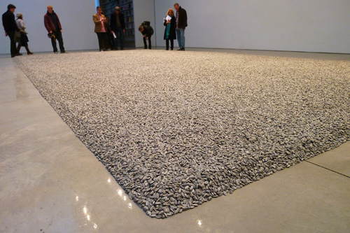 Ai Weiwei Sunflower Seeds Installation at Mary Boone Gallery