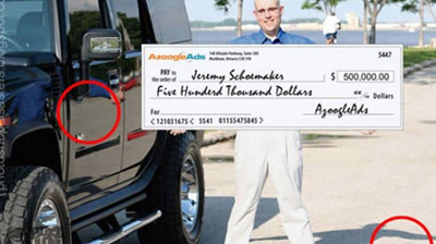Photoshop Giant Check Fail