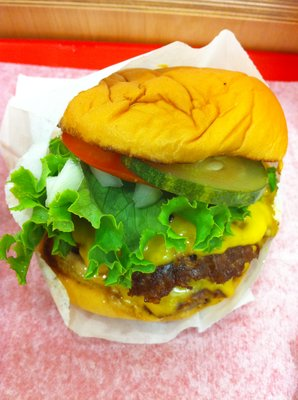 Fresh and Fast Double Cheeseburger