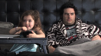 Fat Mike and Daughter