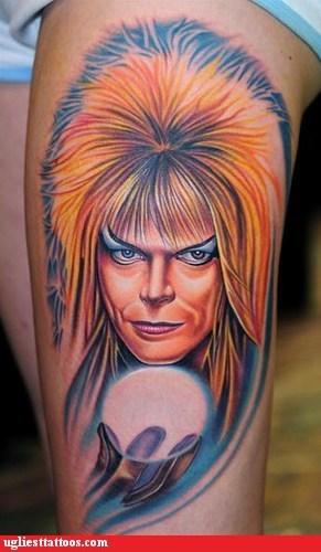 Labyrinth Tattoos: David Bowie Labyrinth Tattoo