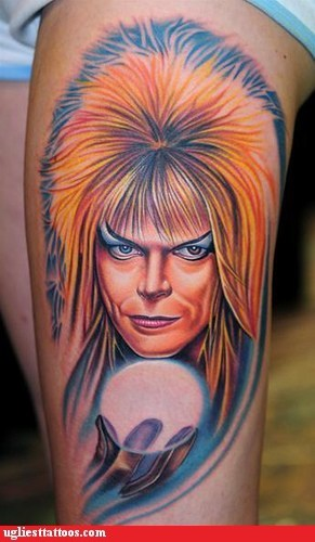 David Bowie Labyrinth Tattoo