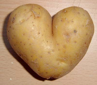 Heart Shaped Potato