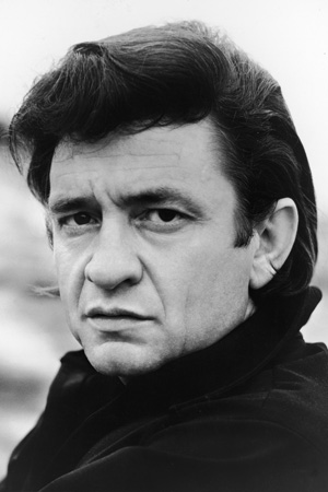 Johnny Cash Portrait Young